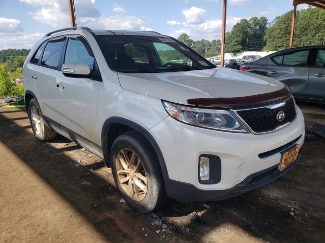 Salvage cars for sale from Copart Fairburn, GA: 2014 KIA Sorento LX