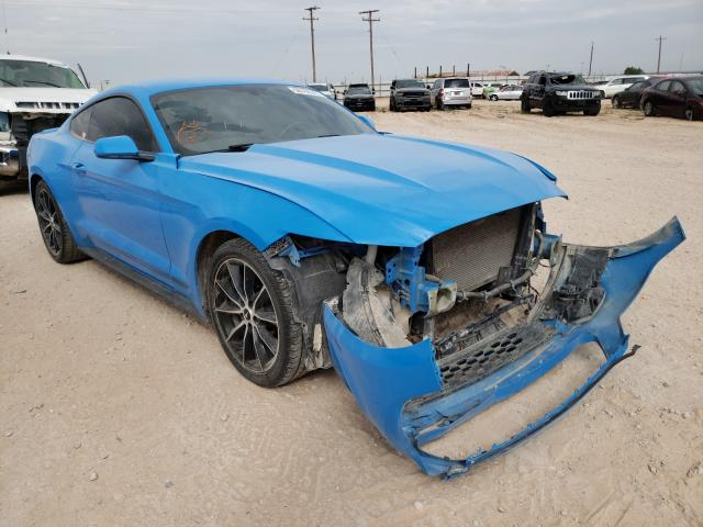 Salvage cars for sale from Copart Andrews, TX: 2017 Ford Mustang