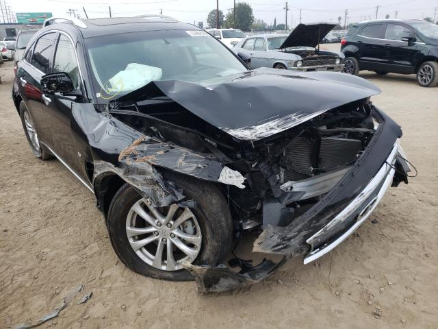 Vehiculos salvage en venta de Copart Los Angeles, CA: 2017 Infiniti QX70