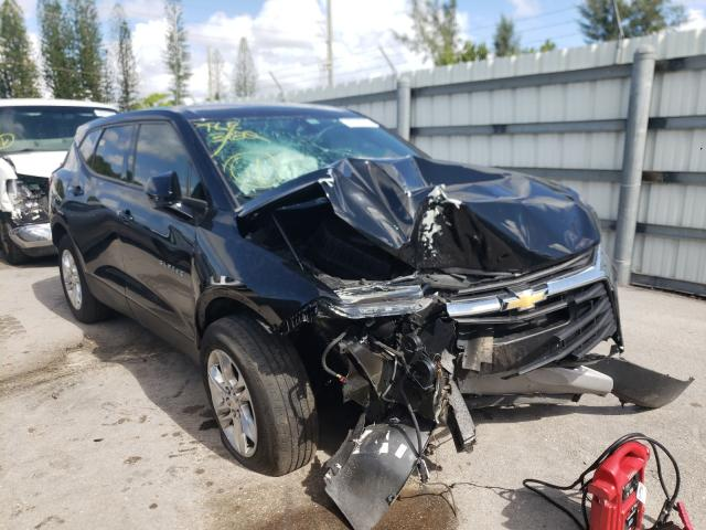 Salvage cars for sale from Copart Miami, FL: 2020 Chevrolet Blazer 1LT