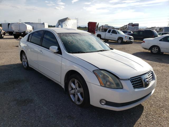 Salvage cars for sale at Tucson, AZ auction: 2006 Nissan Maxima SE