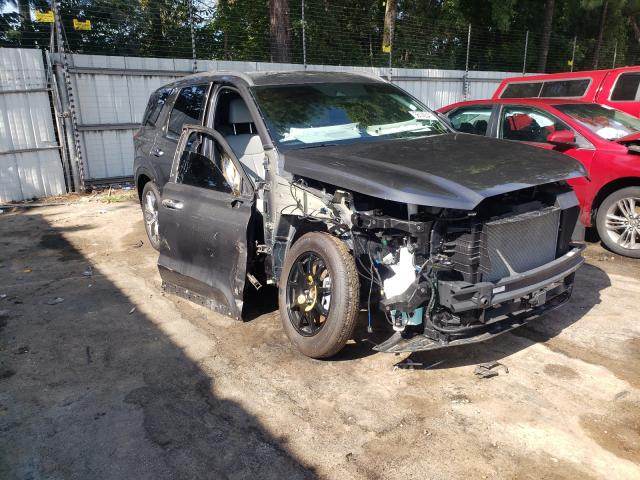 Salvage cars for sale from Copart Austell, GA: 2021 Hyundai Palisade S