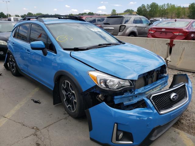 Subaru Vehiculos salvage en venta: 2016 Subaru Crosstrek