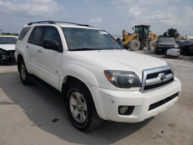 Salvage cars for sale from Copart Tulsa, OK: 2007 Toyota 4runner SR