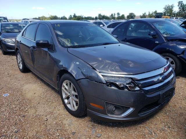 Salvage cars for sale at Bridgeton, MO auction: 2011 Ford Fusion SEL