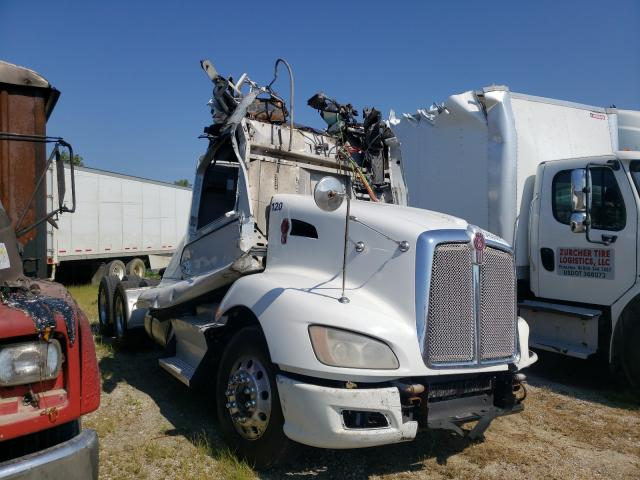 Salvage cars for sale from Copart Alorton, IL: 2013 Kenworth Construction