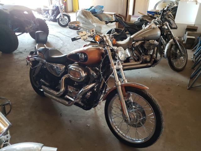 Harley-Davidson XL1200 C A salvage cars for sale: 2008 Harley-Davidson XL1200 C A