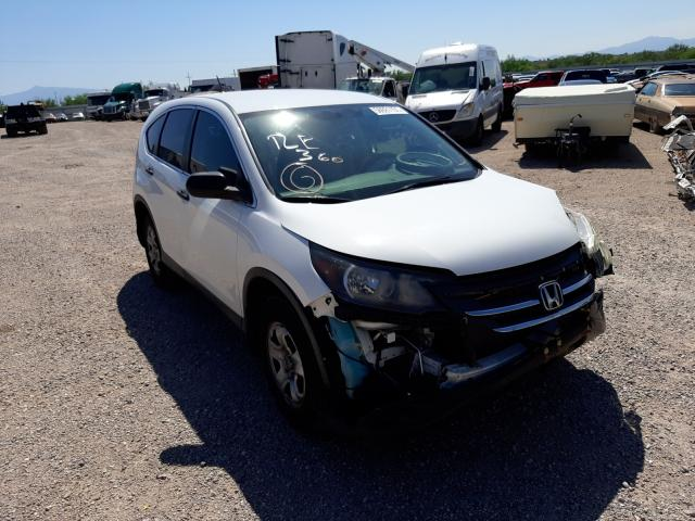 Salvage cars for sale at Tucson, AZ auction: 2012 Honda CR-V LX