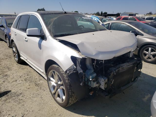 Salvage cars for sale from Copart Antelope, CA: 2011 Ford Edge Sport