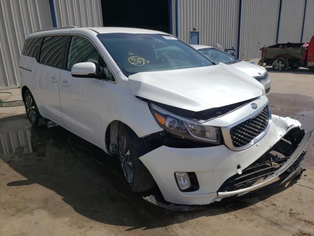 KIA Sedona EX salvage cars for sale: 2015 KIA Sedona EX