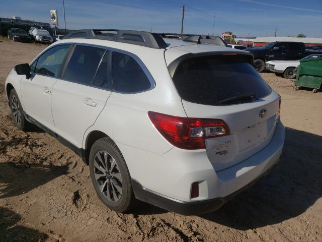 2017 SUBARU OUTBACK 3.6R LIMITED, 4S4BSENCXH3****** - 3