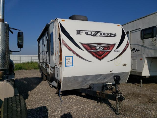 Keystone Fuzion salvage cars for sale: 2013 Keystone Fuzion