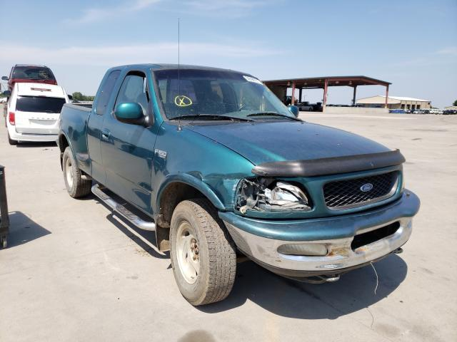 Salvage cars for sale from Copart Wilmer, TX: 1997 Ford F150