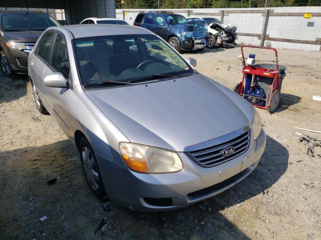KIA salvage cars for sale: 2008 KIA Spectra EX