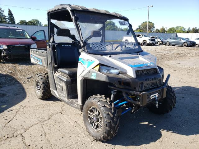 Salvage cars for sale from Copart Cudahy, WI: 2017 Polaris Ranger XP