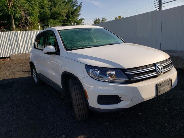 Volkswagen salvage cars for sale: 2013 Volkswagen Tiguan S