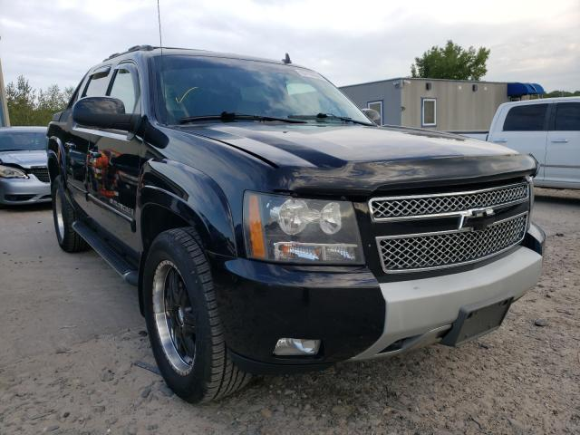Salvage cars for sale from Copart Duryea, PA: 2009 Chevrolet Avalanche