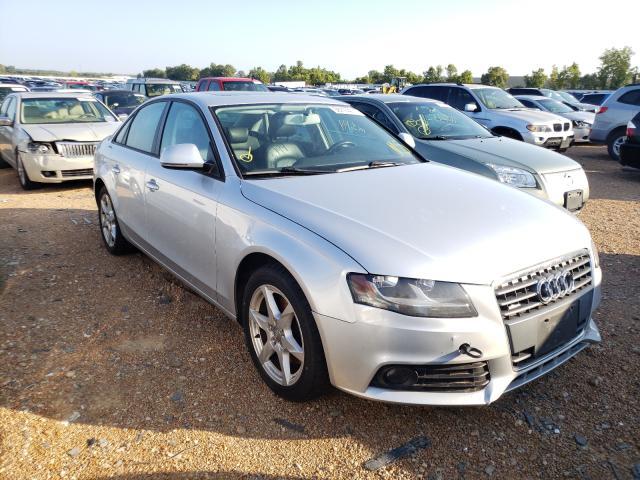 Salvage cars for sale at Bridgeton, MO auction: 2009 Audi A4 2.0T Quattro