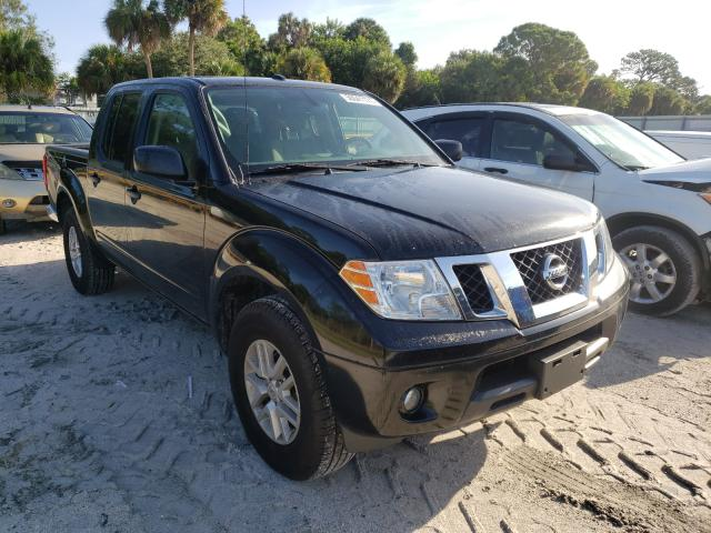 Salvage cars for sale from Copart Fort Pierce, FL: 2018 Nissan Frontier S