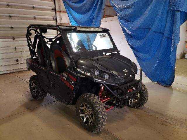 Salvage cars for sale from Copart Columbia Station, OH: 2019 Kawasaki KRT800 C