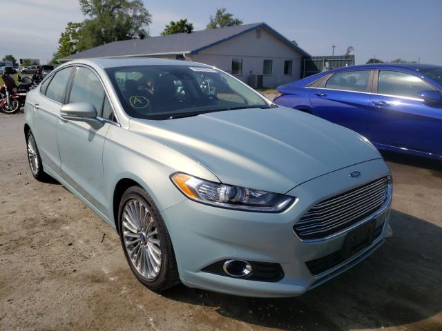 Salvage cars for sale from Copart Sikeston, MO: 2014 Ford Fusion Titanium