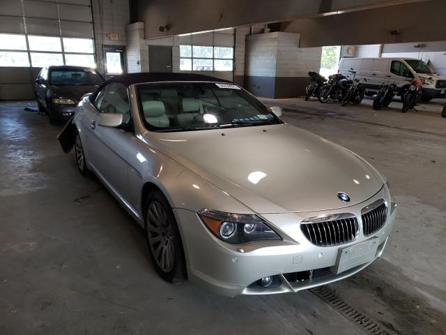 Salvage cars for sale from Copart Sandston, VA: 2005 BMW 645 CI AUT