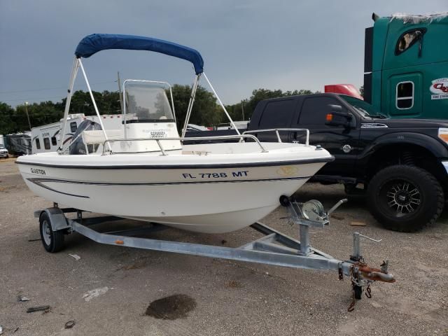 Salvage boats for sale at Riverview, FL auction: 2004 Other 1800