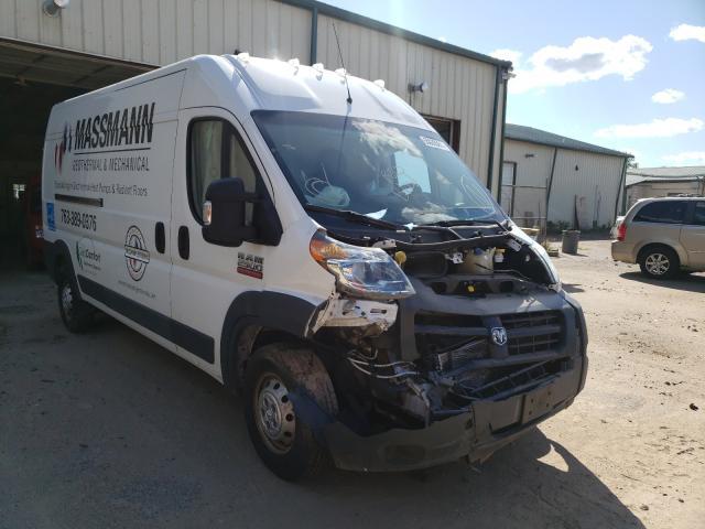 Salvage trucks for sale at Ham Lake, MN auction: 2015 Dodge RAM Promaster