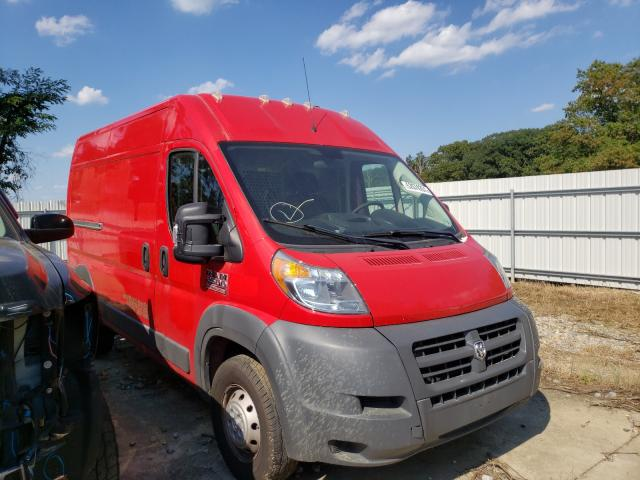 Salvage cars for sale from Copart Windsor, NJ: 2018 Dodge RAM Promaster
