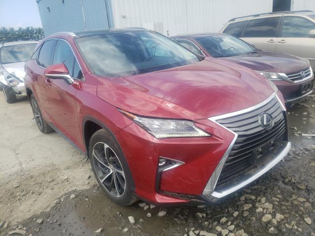 Salvage cars for sale from Copart Chambersburg, PA: 2016 Lexus RX 350