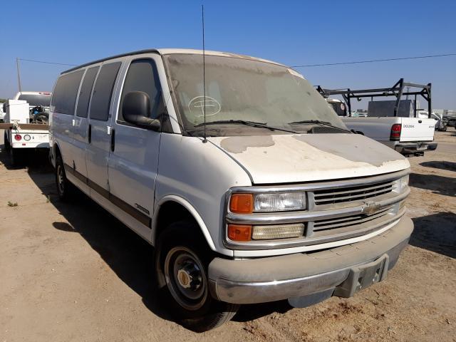 Vehiculos salvage en venta de Copart Fresno, CA: 2000 Chevrolet Express G3