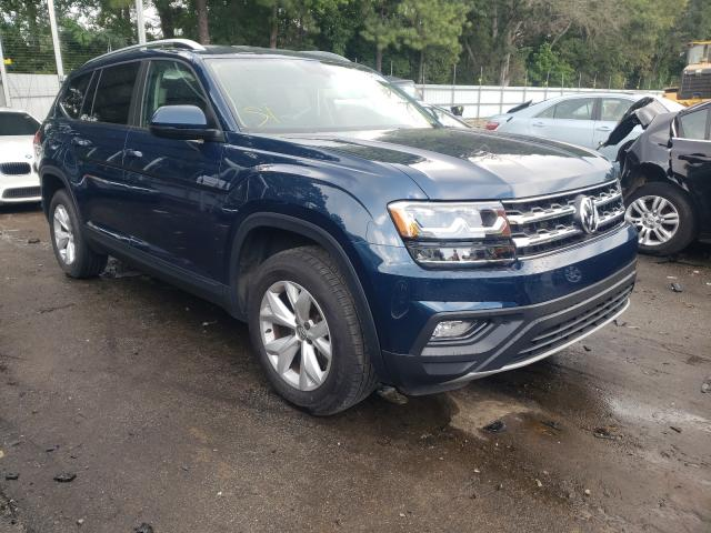 Salvage cars for sale from Copart Austell, GA: 2018 Volkswagen Atlas SE