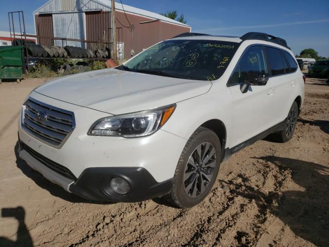 2017 SUBARU OUTBACK 3.6R LIMITED, 4S4BSENCXH3****** - 2