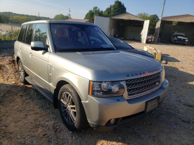 Salvage cars for sale from Copart China Grove, NC: 2010 Land Rover Range Rover