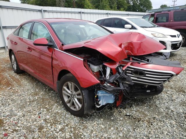 Salvage cars for sale from Copart Mebane, NC: 2017 Hyundai Sonata SE