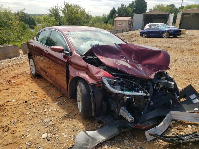 Salvage cars for sale from Copart China Grove, NC: 2016 Chrysler 200 Limited