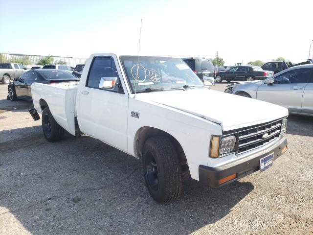 Salvage cars for sale at Tucson, AZ auction: 1985 Chevrolet S Truck S1