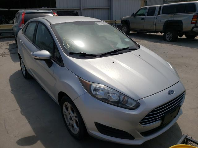 Salvage cars for sale from Copart Corpus Christi, TX: 2015 Ford Fiesta SE