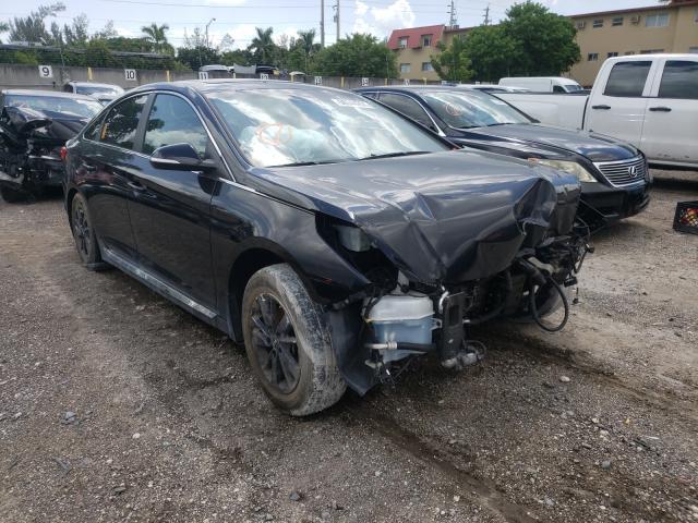 Hyundai salvage cars for sale: 2017 Hyundai Sonata Sport