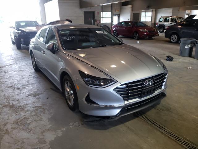 Salvage cars for sale from Copart Sandston, VA: 2021 Hyundai Sonata SE