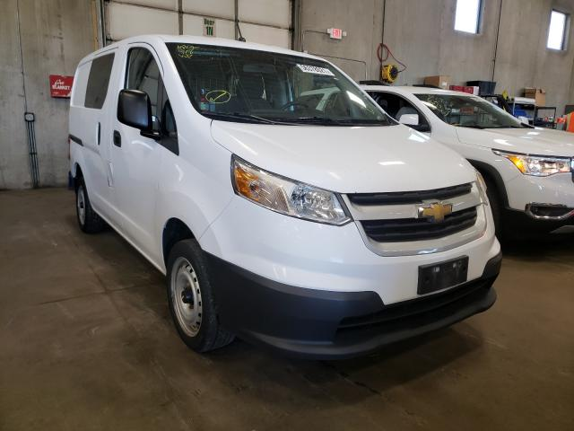 Salvage cars for sale from Copart Blaine, MN: 2017 Chevrolet City Expre