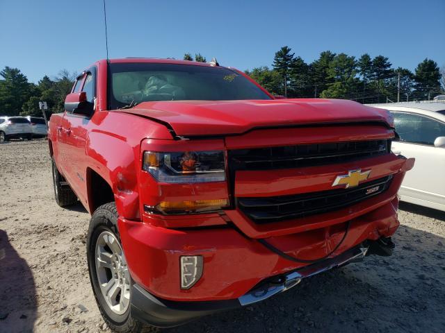 Salvage cars for sale from Copart Mendon, MA: 2018 Chevrolet Silverado