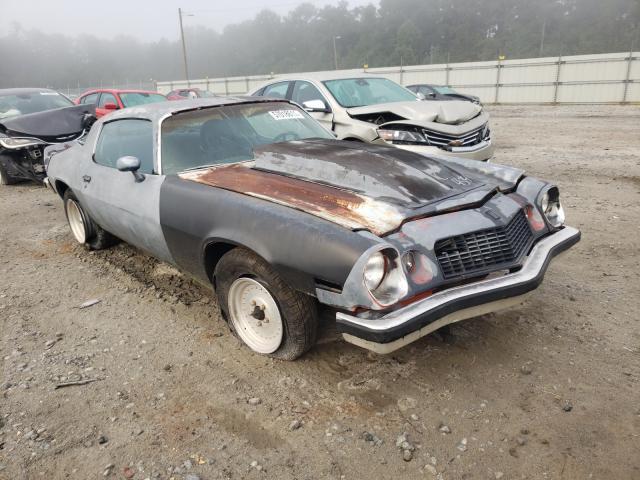 Chevrolet Camaro salvage cars for sale: 1976 Chevrolet Camaro