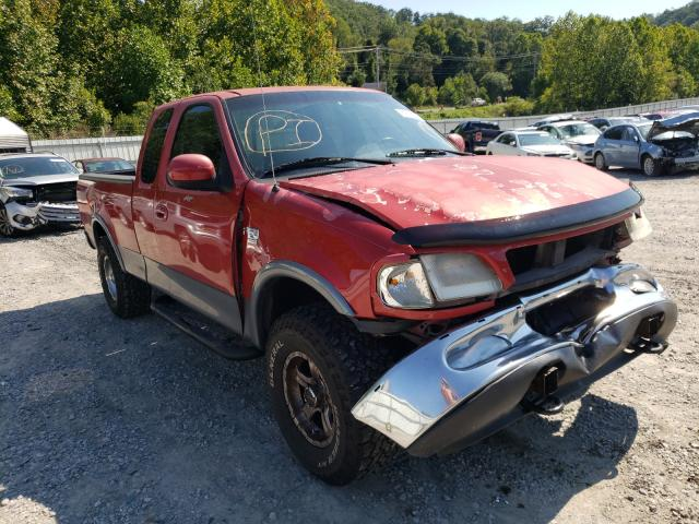 Salvage cars for sale from Copart Hurricane, WV: 1998 Ford F150
