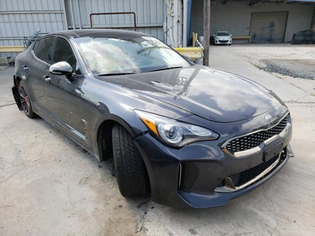 Salvage cars for sale from Copart Corpus Christi, TX: 2020 KIA Stinger