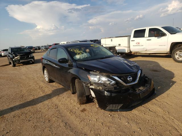 Salvage cars for sale from Copart Amarillo, TX: 2016 Nissan Sentra S