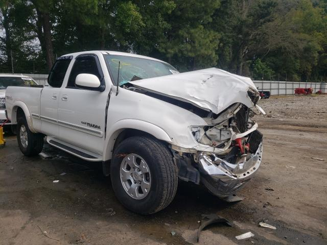 Salvage cars for sale from Copart Austell, GA: 2000 Toyota Tundra ACC