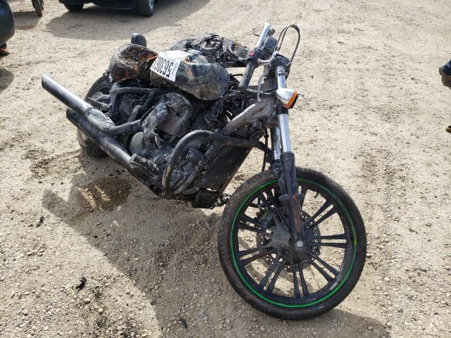 Salvage cars for sale from Copart Nisku, AB: 2015 Kawasaki VN900 C