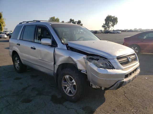 Vehiculos salvage en venta de Copart Martinez, CA: 2005 Honda Pilot EXL