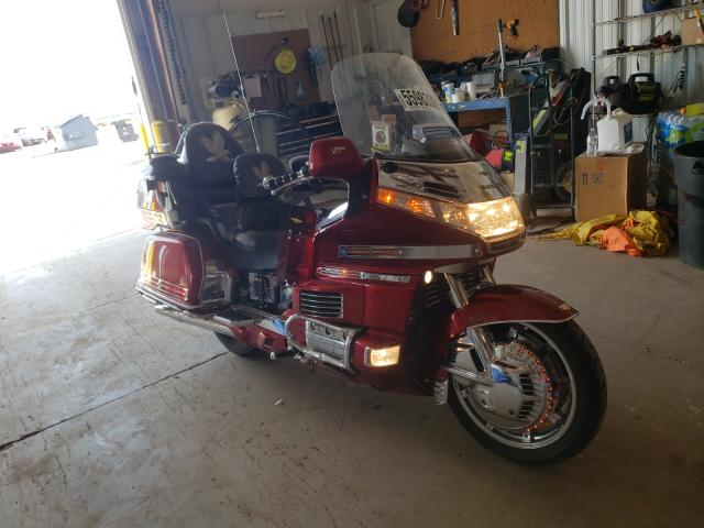 Salvage cars for sale from Copart Amarillo, TX: 1996 Honda GL1500 A/2